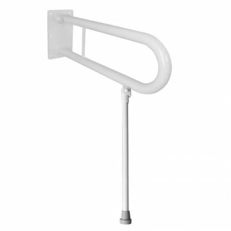 Uchwyt Uchylny dla Niepełnosprawnych z nogą 85cm biały fi32